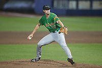 Down East Wood Ducks starting pitcher Wyatt Sparks (27) in action against the Kannapolis Cannon Ballers at Atrium Health Ballpark on May 5, 2021 in Kannapolis, North Carolina. (Brian Westerholt/Four Seam Images)