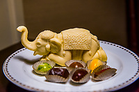 Thailand, Bangkok. Chocolate elephant in the room.