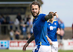 Arbroath v St Johnstone…15.08.21  Gayfield Park      Premier Sports Cup<br />Stevie May<br />Picture by Graeme Hart.<br />Copyright Perthshire Picture Agency<br />Tel: 01738 623350  Mobile: 07990 594431