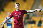 St Johnstone v Aberdeen…13.12.17…  McDiarmid Park…  SPFL<br />Adam Rooney<br />Picture by Graeme Hart. <br />Copyright Perthshire Picture Agency<br />Tel: 01738 623350  Mobile: 07990 594431