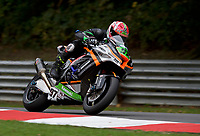 Kyle Ryde (97) of Quattro Plant FS-3 Racing Kawasaki during 2nd practice in the MCE BRITISH SUPERBIKE Championships 2017 at Brands Hatch, Longfield, England on 13 October 2017. Photo by Alan  Stanford / PRiME Media Images.