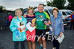 Ready for road in the Tom Crean Cycle fundraiser for Down Syndrome Kerry  on Saturday morning, l to r: Kerry O'Connell, Bridie O'Callaghan, James Adams and Mary Shanahan.