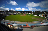 A general view of the new turf at the Hawkins Basin Reserve, Wellington, New Zealand on Tuesday, 2 October 2012. Photo: Dave Lintott / lintottphoto.co.nz