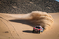 305 Sainz Carlos (esp), Cruz Lucas (esp), Mini John Cooper Works Buggy, Bahrain JCW X-Raid Team, Car, action during Stage 8 of the Dakar 2020 between Wadi Al-Dawasir and Wadi Al-Dawasir, 713 km - SS 474 km, in Saudi Arabia, on January 13, 2020 <br /> Rally Dakar <br /> 13/01/2020 <br /> Photo DPPI / Panoramic / Insidefoto