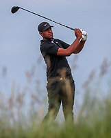 160719 | The 148th Open - Tuesday Practice<br /> <br /> Tony Finau of USA on the 17th tee during practice for the 148th Open Championship at Royal Portrush Golf Club, County Antrim, Northern Ireland. Photo by John Dickson - DICKSONDIGITAL