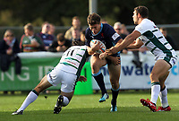 Match action during the Greene King IPA Championship match between London Scottish Football Club and London Irish Rugby Football Club  at Richmond Athletic Ground, Richmond, United Kingdom on 7 October 2018. Photo by Harry Hubbard/PRiME Media Images.