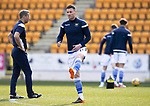St Johnstone v Clyde…17.04.21   McDiarmid Park   Scottish Cup<br />Michael O'Halloran pictured during the warm-up<br />Picture by Graeme Hart.<br />Copyright Perthshire Picture Agency<br />Tel: 01738 623350  Mobile: 07990 594431