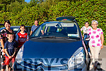 At the the Glenbeigh/Glencar GAA Drive-In Bingo on Friday evening<br /> <br /> L-R Gemma, Finnán & Darragh O'Connor, Jimmy Hayes, Patricia Murphy & Maria Hayes.