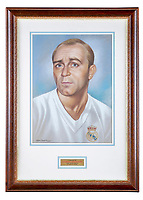 Epic collection of medals, trophies and shirts relating to footballing legend Alfredo Di Stefano