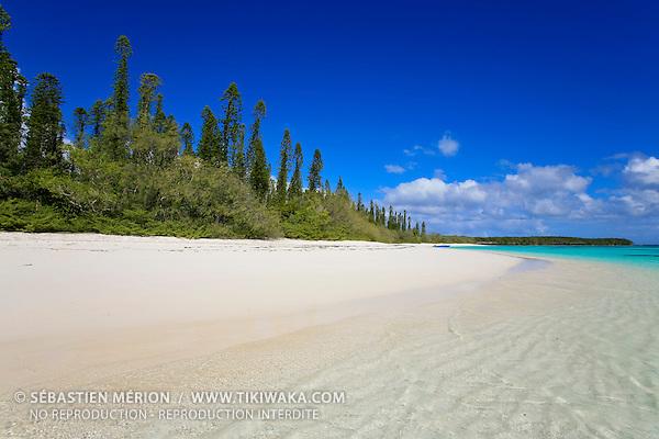 Plage de l'îlot Brosse, Ile des Pins, Nouvelle-Calédonie