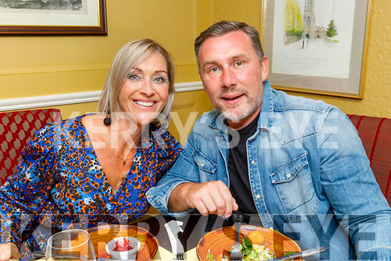Noreen and Eamon Ferris from Ardfert enjoying the evening in the Brogue Inn on Saturday.