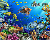 Lori, REALISTIC ANIMALS, REALISTISCHE TIERE, ANIMALES REALISTICOS, zeich, paintings+++++CoralReef1,USLS160,#a#, EVERYDAY ,puzzle,puzzles