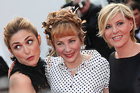 JULIE GAYET, JULIE DEPARDIEU AND CHANTAL LADESOU - RED CARPET OF THE FILM 'LA FILLE INCONNUE' AT THE 69TH FESTIVAL OF CANNES 2016