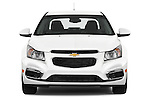 Car photography straight front view of a 2015 Chevrolet Cruze 4-Door Sedan 2LT Automatic 4 Door  Front View