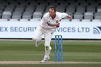 Tom Westley in bowling action for Essex during Essex CCC vs Worcestershire CCC, LV Insurance County Championship Group 1 Cricket at The Cloudfm County Ground on 11th April 2021