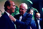 SERGE KARAGEORGEVIC CON VITTORIO EMANUELE DI SAVOIA<br /> MATRIMONIO CAMILLA CROCIANI E CARLO  BORBONE MONTECARLO 1998