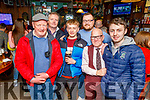Tom, Junior, Jordan and Christopher Foley, Joe Hanley and Eamon Sheehy enjoying the Cheltenham Races in the Castle Bar on Thursday.
