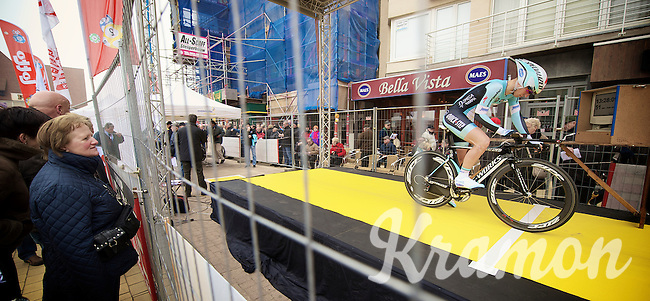 3 Days of West-Flanders, day 1: Middelkerke prologue.start podium