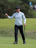180719 | The 148th Open - Day 1<br /> <br /> Paul Casey of England on the 14th green during the 148th Open Championship at Royal Portrush Golf Club, County Antrim, Northern Ireland. Photo by John Dickson - DICKSONDIGITAL