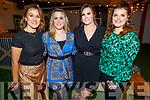 Niamh O'Carroll, Jennifer O'Carroll Reidy, Megan O'Brien and Helena Buckley attending the 'Paris is Burning' Drag Show in Benners Hotel on Saturday.