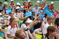 15-06-11, Tennis, Rosmalen, Unicef Open, Kidsday