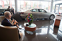 13/04/17<br /> <br /> ***Free photo for editorial use***<br /> <br /> One hundred year-old, Barry High takes delivery of his special Centenary Celebration Edition Lexus LS600h at Listers Lexus, Cheltenham.<br /> <br /> <br /> All Rights Reserved F Stop Press Ltd. (0)1773 550665 www.fstoppress.com