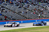 #11: Denny Hamlin, Joe Gibbs Racing, Toyota Camry FedEx Office, #17: Ricky Stenhouse Jr., Roush Fenway Racing, Ford Mustang Fastenal