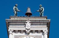Udine, Detail Porticato S.Giovanni, Venetien-Friaul, Italien