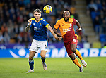 St Johnstone v Galatasaray…12.08.21  McDiarmid Park Europa League Qualifier<br />Jason Kerr and Ryan Babel<br />Picture by Graeme Hart.<br />Copyright Perthshire Picture Agency<br />Tel: 01738 623350  Mobile: 07990 594431