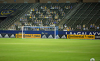 CARSON, CA - OCTOBER 14: Dignity Heath Sports Park, Los Angeles Galaxy during a game between San Jose Earthquakes and Los Angeles Galaxy at Dignity Heath Sports Park on October 14, 2020 in Carson, California.