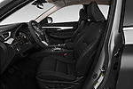 Front seat view of a 2019 Infiniti QX50 LUXE AWD 5 Door SUV front seat car photos