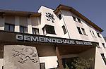 Gemeindehaus (Rathaus) von Balzers..Photo: Paul Trummer