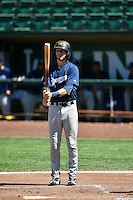 Lucas Erceg (4) of the Helena Brewers at bat against the Ogden Raptors in Pioneer League action at Lindquist Field on July 16, 2016 in Ogden, Utah. Ogden defeated Helena 5-4. (Stephen Smith/Four Seam Images)