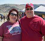 Tina and Ken during the Numaga Indian Days Pow Wow in Hungry Valley on Saturday, Sept. 1, 2018.
