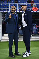 Fabio Liverani-Sinisa Mihajlovic <br /> during the Serie A football match between Bologna FC and Parma Calcio 1913 at stadio Renato Dall Ara in Bologna (Italy), September 28th, 2020. Photo Image Sport / Insidefoto