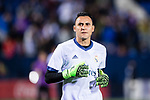 Goalkeeper Keylor Navas of Real Madrid in training prior to the La Liga match between Deportivo Leganes and Real Madrid at the Estadio Municipal Butarque on 05 April 2017 in Madrid, Spain. Photo by Diego Gonzalez Souto / Power Sport Images