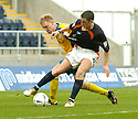 02/04/2005         Copyright Pic : James Stewart.File Name : jspa16_falkirk_v_st_johnstone.RYAN MCSTAY HAS HIS SHIRT PULLED IN THE PENALTY BOX BY STEVEN ANDERSON........Payments to :.James Stewart Photo Agency 19 Carronlea Drive, Falkirk. FK2 8DN      Vat Reg No. 607 6932 25.Office     : +44 (0)1324 570906     .Mobile   : +44 (0)7721 416997.Fax         : +44 (0)1324 570906.E-mail  :  jim@jspa.co.uk.If you require further information then contact Jim Stewart on any of the numbers above.........A