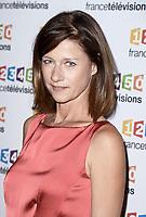 Photocall de la conference de presse de France Télévisions - Carole Gaessler