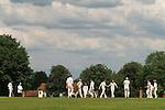 Village cricket game match. Wisborough Green, West Sussex 2008 2000s UK
