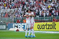São Paulo (SP), 05/10/2019 - SÃOPAULO-FORTALEZA - Pablo do São Paulo comemora o gol. São Paulo e Fortaleza, pela 23ª rodada do Campeonato Brasileiro 2019, no estádio do Pacaembu, neste sábado (05).
