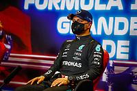 BOTTAS Valtteri (fin), Mercedes AMG F1 GP W12 E Performance, portrait, press conference during the Formula 1 Heineken Grande Prémio de Portugal 2021 from April 30 to May 2, 2021 on the Algarve International Circuit, in Portimao, Portugal<br /> FORMULA 1 : Grand Prix Portugal - Essais - Portimao - 01/05/2021<br /> Photo DPPI/Panoramic/Insidefoto <br /> ITALY ONLY