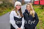 Ready for a stroll on the Slim Mile Greenway in Tralee on Sunday, l to r: Amy Johnston and Louise O'Connell