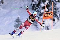 19th December 2020; Saslong, Val Gardena, Tyrol, Italy; International Ski Federation Alpine Ski World Cup, 2nd Men's Downhill, Val Gardena; Otmar Striedinger from Austria