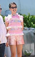 CANNES, FRANCE. July 13, 2021: Lyna Khoudri at the photocall for Wes Anderson's The French Despatch at the 74th Festival de Cannes.<br /> Picture: Paul Smith / Featureflash
