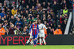 Real Madrid's Sergio Ramos,Carlos Henrique Casemiro , Marco Asensio,FC Barcelona's Leo Messi  during spanish La Liga match between Futbol Club Barcelona and Real Madrid  at Camp Nou Stadium in Barcelona , Spain. Decembe r03, 2016. (ALTERPHOTOS/Rodrigo Jimenez)