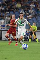 12th September 2021; Olimpico Stadium, Rome, Italy; Serie A championship football, AS Roma versus US Sassulo ; Giacomo Raspadori of US Sassuolo