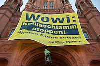 2014/08/19 Berlin | Greenpeace-Aktion gegen Braunkohle