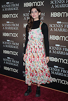 NEW YORK, NY- October 10:  Lindsey Sagrera at the HBOMAX premiere of Scenes From A Marriage at the Museum of Modern Art Titus Theatre in New York City on October 10, 2021 <br /> CAP/MPI/RW<br /> ©RW/MPI/Capital Pictures