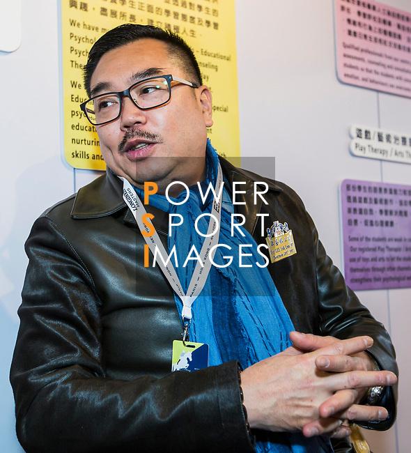 Dr Lee Yuk Lun, chairman of Tung Wah Group of Hospitals, arrives at the Longines Masters of Hong Kong at AsiaWorld-Expo on 09 February 2018, in Hong Kong, Hong Kong. Photo by Yuk Man Wong / Power Sport Images