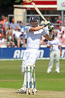 Kevin Pietersen in batting action for England - Essex CCC vs England - LV Challenge Match at the Essex County Ground, Chelmsford - 30/06/13 - MANDATORY CREDIT: Gavin Ellis/TGSPHOTO - Self billing applies where appropriate - 0845 094 6026 - contact@tgsphoto.co.uk - NO UNPAID USE